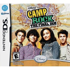 Jogo Camp Rock The Final Jam Disney Nintendo DS