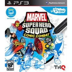Jogo Marvel Super Hero Squad: Comic Combat PlayStation 3 THQ
