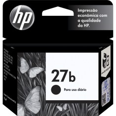 Cartucho Preto HP 27b C8727BB