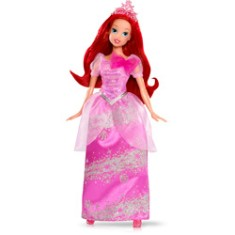 Boneca Princesas Disney Ariel Fashion Mattel