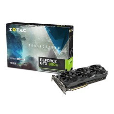 Placa de Video NVIDIA GeForce GTX 980 Ti 6 GB GDDR5 384 Bits Zotac ZT-90502-10P