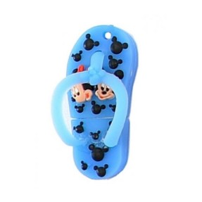 Pen Drive Importado 4 GB USB Chinelo Minnie e Mickey