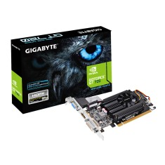 Placa de Video NVIDIA GeForce GT 720 1 GB DDR3 64 Bits Gigabyte GV-N720D3-1GL