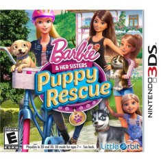 Jogo Barbie and her Sisters Puppy Rescue Little Orbit Nintendo 3DS