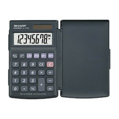 Calculadora De Bolso Sharp EL376SBK