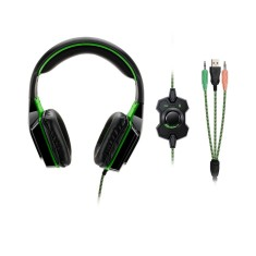Headset com Microfone Multilaser Dual Shock Led PH180