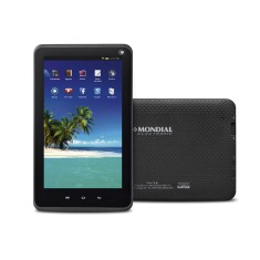 "Tablet Mondial 8GB LCD 7"" Android 4.4 (Kit Kat) 2 MP"