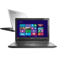 "Notebook Lenovo Intel Core i3 4005U 4ª Geração 4GB de RAM HD 500 GB 14"" Windows 8.1 G40"