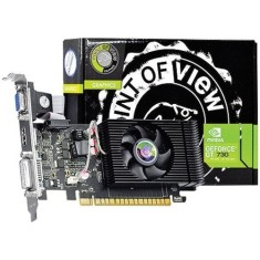 Placa de Video NVIDIA GeForce GT 730 4 GB DDR3 128 Bits Point Of View VGA-730-C5-4096
