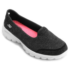 Tênis Skechers Feminino Casual Go Walk 2 Super Sock Bind
