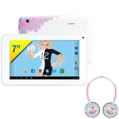 "Tablet Candide 8GB TFT 7"" Android 4.2 (Jelly Bean Plus) 2 MP Xuxa 3277"