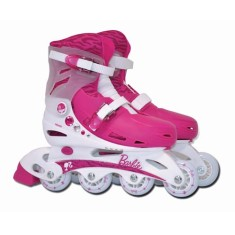 Patins In-Line Barbie Brinquedos Fun Toys Barbie