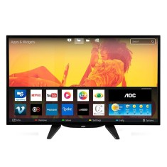 "Smart TV TV LED 32"" AOC Netflix LE32S5760 3 HDMI"