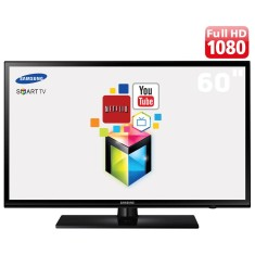 "Smart TV TV LED 60"" Samsung Série 6 Full HD Netflix UN60H6103 2 HDMI"