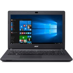 "Notebook Acer Aspire E Intel Pentium N3700 4GB de RAM HD 500 GB 14"" Windows 10 ES1-431-P0V7"