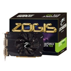 Placa de Video NVIDIA GeForce GTX 750 1 GB GDDR5 128 Bits Zogis ZOGTX750-1GD5