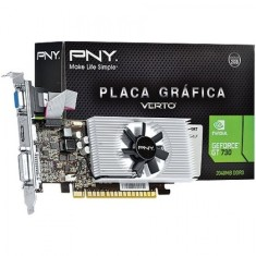 Placa de Video NVIDIA GeForce GT 730 2 GB DDR3 128 Bits PNY VCGGT7302D3LXPB