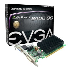 Placa de Video NVIDIA GeForce 8400 GS 1 GB DDR3 64 Bits EVGA 01G-P3-1303-KR