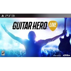 Jogo Guitar Hero Live PlayStation 3 Activision
