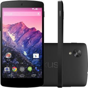 Smartphone LG Google Nexus 5 16GB D821 8,0 MP Android 4.4 (Kit Kat) Wi-Fi 4G 3G
