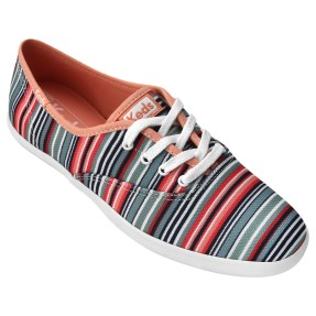 Tênis Keds Feminino Casual Champion Stripes