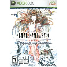 Jogo Final Fantasy XI Online: Wings of The Goddess Xbox 360 Square Enix