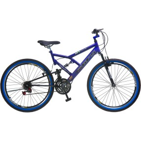Bicicleta Mountain Bike Colli Bikes 18 Marchas Aro 26 Suspensão Full Suspension Freio V-Brake Full S GPS 148