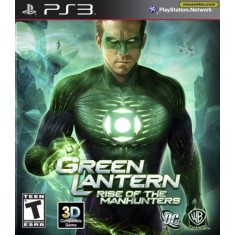 Jogo Green Lantern: Rise of the Manhunters PlayStation 3 Warner Bros
