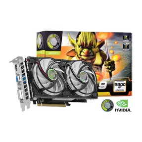 Placa de Video NVIDIA GeForce 9800 GT 1 GB DDR3 256 Bits Point Of View R-VGA150913G-2