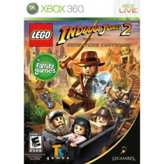 Jogo Lego Indiana Jones 2 The Adventure Continues Xbox 360 LucasArts