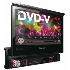 "DVD Player Automotivo Pioneer 7 "" AVH-3580DVD Touchscreen USB"