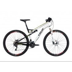 Bicicleta Mountain Bike Caloi 30 Marchas Aro 29 Suspensão Full Suspension Freio a Disco Elite FS