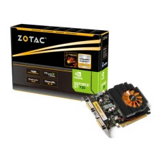 Placa de Video NVIDIA GeForce GT 730 1 GB DDR3 128 Bits Zotac ZT-71104-10L