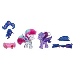 Boneca My Little Pony Rarity & Princess Luna Pop Hasbro