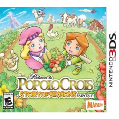 Jogo Return to PopoloCrois: A Story of Seasons Fairytale Marvelous Interactive Nintendo 3DS