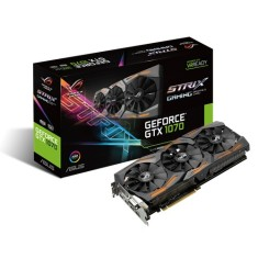 Placa de Video NVIDIA GeForce GTX 1070 8 GB GDDR5 256 Bits Asus STRIX-GTX1070-8G-GAMING