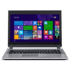 "Notebook Positivo Premium Intel Celeron 1007U 4GB de RAM HD 320 GB 14"" Touchscreen Windows 8 S2850"