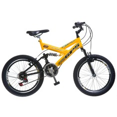 Bicicleta Colli Bikes 21 Marchas Aro 20 Suspensão Full Suspension Freio V-Brake GPS 310
