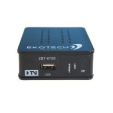 Receptor de TV Digital Full HD USB HDMI Zbt-670S Ekotech