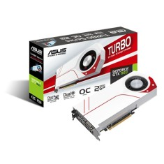 Placa de Video NVIDIA GeForce GTX 960 2 GB GDDR5 128 Bits Asus TURBO-GTX960-OC-2GD5
