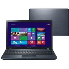 "Notebook Samsung ATIV Book 2 Intel Core i3 3110M 3ª Geração 4GB de RAM HD 500 GB 14"" Windows 8 NP270E4E-KD4"