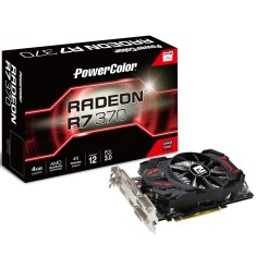 Placa de Video ATI Radeon R7 370 4 GB GDDR5 256 Bits PowerColor AXR7 370 4GBD5-DHE/OC
