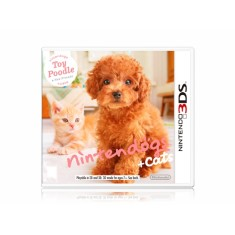 Jogo Nintendogs + Cats Toy Poodle Nintendo 3DS
