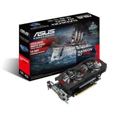 Placa de Video ATI Radeon R7 360 2 GB GDDR5 128 Bits Asus R7360-OC-2GD5-V2