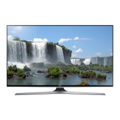 "Smart TV TV LED 3D 65"" Samsung Série 6 Full HD Netflix UN65J6400 4 HDMI"