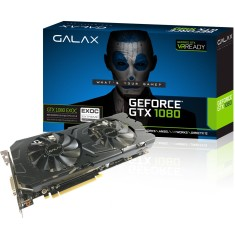 Placa de Video NVIDIA GeForce GTX 1080 8 GB GDDR5X 256 Bits Galax 80NSJ6DHL4EC