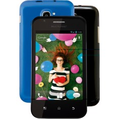 Smartphone Multilaser Trend P3244 2,0 MP 2 Chips Android 2.3 (Gingerbread) Wi-Fi 3G