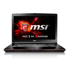 "Notebook MSI Gamer Intel Core i7 6700HQ 6ª Geração 8GB de RAM HD 1 TB 17,3"" GeForce GTX 960M Windows 10 GE72 6QC Apache"