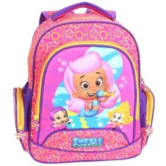 Mochila Escolar Dermiwil Buble Guppies Girls M