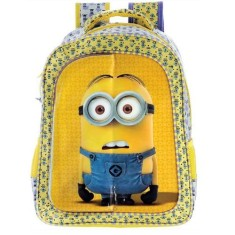 Mochila Escolar Xeryus Minion Triple Fun 14 5763